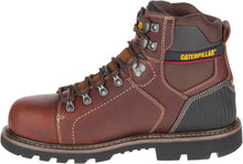"'Caterpillar' Men's 6"" Alaska 2.0 EH, Slip-Resistant, Steel Toe - Brown"