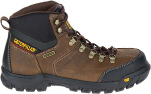 "'Caterpillar' Men's 6"" Threshold WP, EH, Steel Toe - Brown / Black"