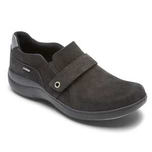 'Rockport' Women's Rev Stridarc WP Slip On - Black