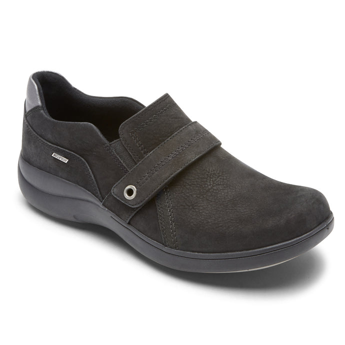 'Rockport' CH6099 - Women's Rev Stridarc WP Slip On - Black