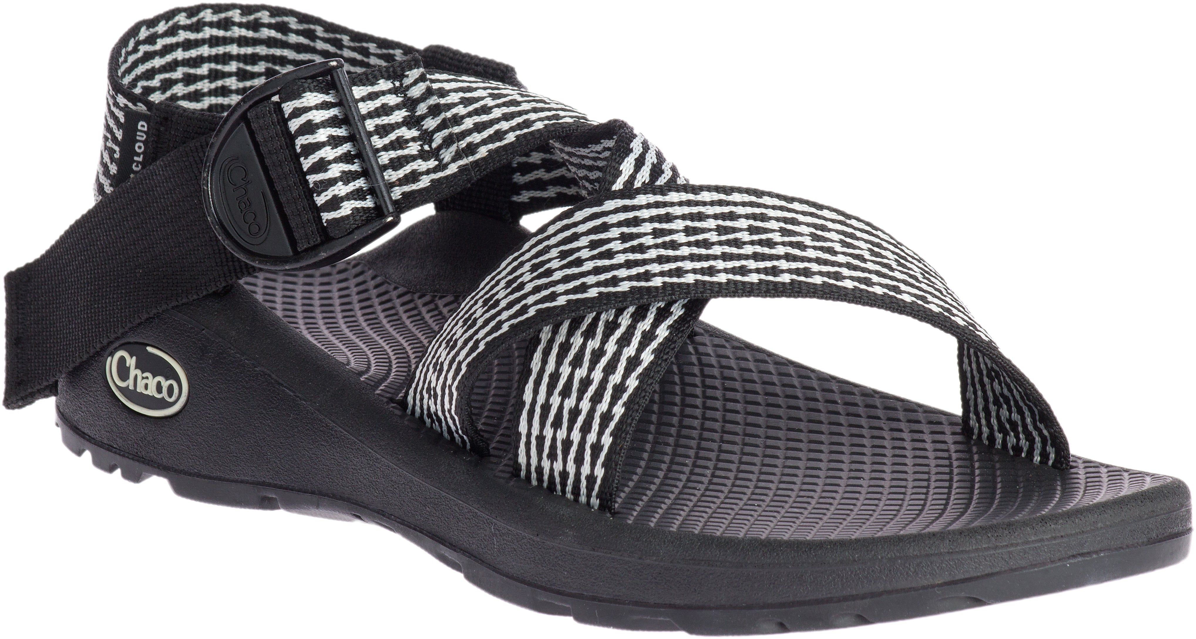 'Chaco' J107076 - Mega ZCloud Sandals - Prong Black