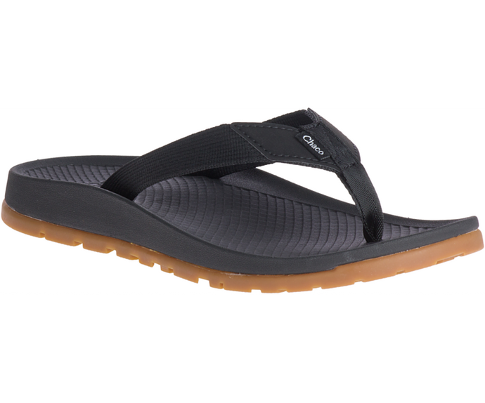 'Chaco' Women's Lowdown Flip Sandal - Black