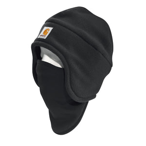 'Carhartt' Men's Fleece 2-in-1 Headwear - Black