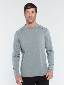 'TASC' Men's Carrollton Bamboo Tee - Heather Grey