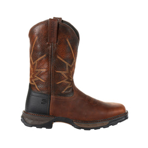 "'Durango' Men's 11"" Maverick XP™ Ventilated Western Square Toe - Brown"