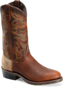 "13"" Domestic U Toe - Oldtown Summer Tan / Tobacco Snakebite"