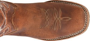 "Monte 11"" Wide Square Toe Cowboy Boot -  Tenby Coppertone Brown"