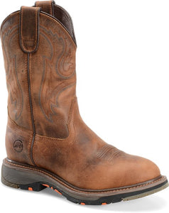 "Workflex 11"" Round Toe Roper - Brown"
