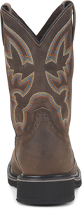 "'Double H' Men's 10"" Nicholai EH Comp Toe Pull On - Brown"