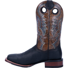 "'Dan Post' Men's 11"" Deuce Western Wide Square Toe - Black / Brown"