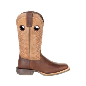 "'Durango' Women's 12"" Rebel Pro Western Square Toe - Tiger's Eye"