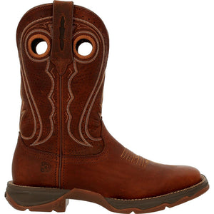 "'Durango' Women's 11"" Rebel Pro Western Square Toe - Chestnut"