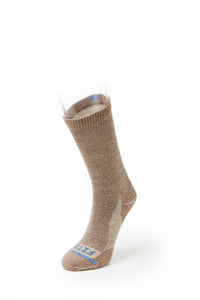 Light Rugged Crew Sock - Light Brown