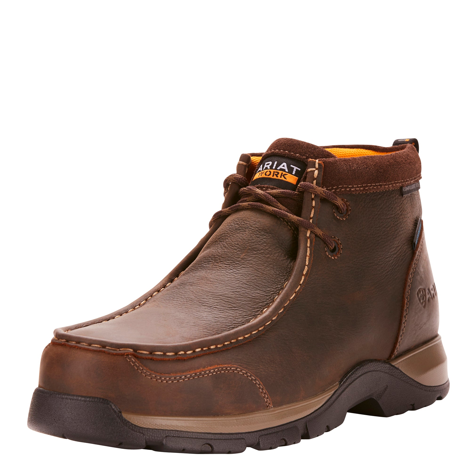 'Ariat' Edge LTE Moc Comp Toe - Brown