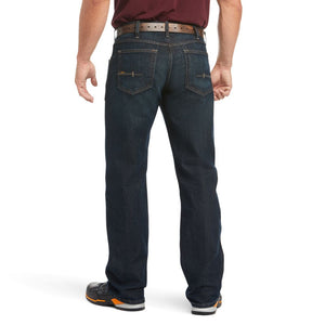 'Ariat' Men's Rebar M5 Slim Straight Leg - Blackstone