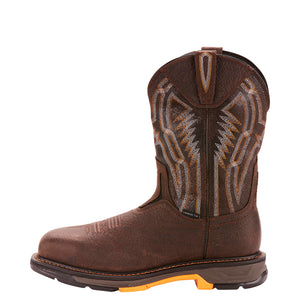 "'Ariat' Men's 11"" Workhog XT  EH Comp Toe - Brown"