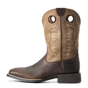 "'Ariat' Men's 11"" Sport Ranger - Barley / Toasted Tan"
