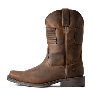"'Ariat' Men's 11"" Rambler Patriot - Brown"