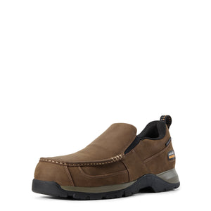 'Ariat' 10029530 - Men's Edge Lite Slip On Composite Toe - Dark Brown