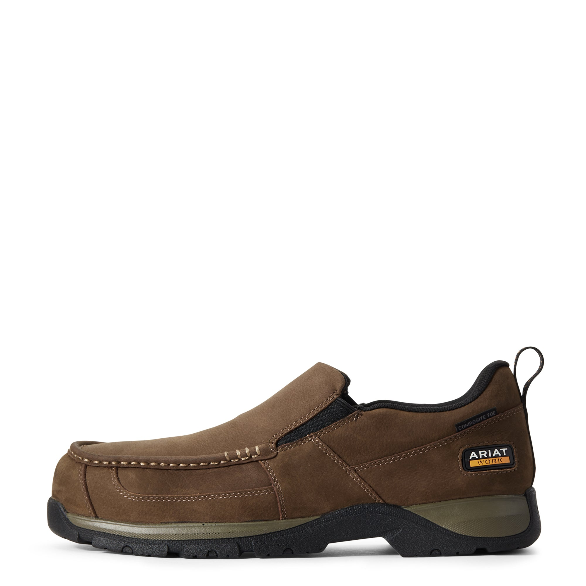 'Ariat' Men's Edge Lite Comp Toe - Dark Brown