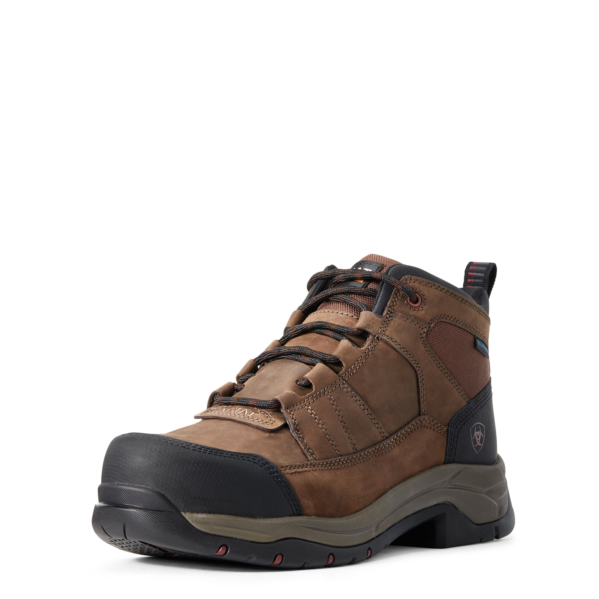 'Ariat' Men's Telluride Work Comp Toe / WP - Brown