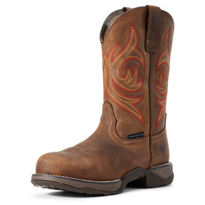 'Ariat' Women's Anthem Comp Toe Work - Brown