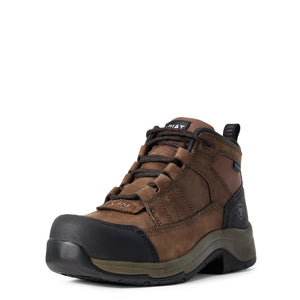 'Ariat' 10029481 - Women's Telluride Comp Toe / WP Boot - Brown