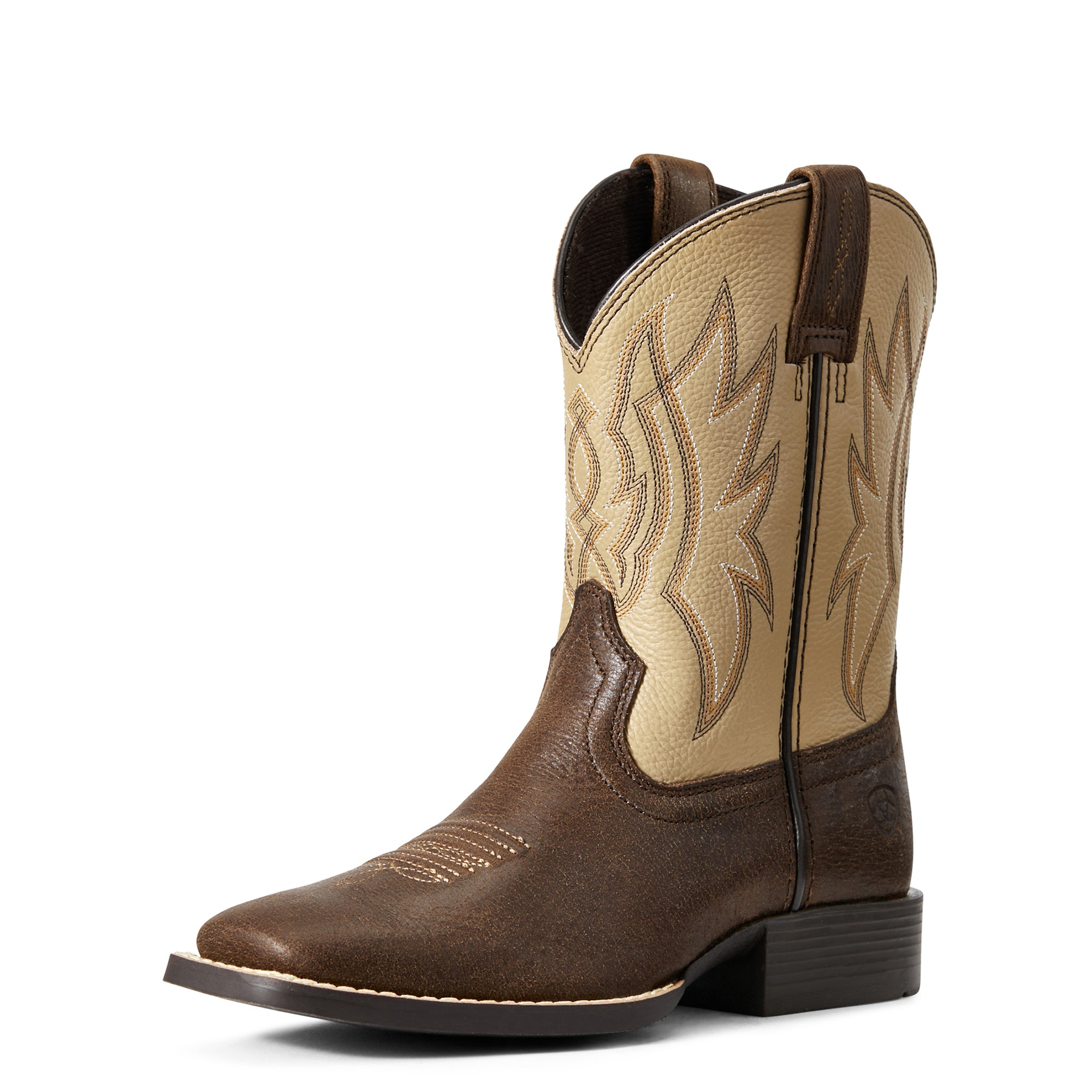 'Ariat' Youth Pace Setter - Timber / Rice Crispy
