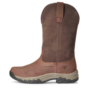 "'Ariat' Women's 11"" Terrain WP Pull On - Brown"