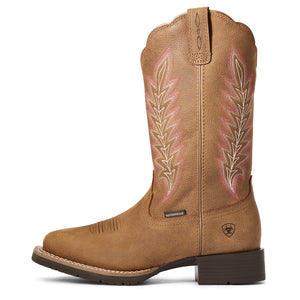 "'Ariat' Women's 11"" Hybrid Ramble WP Western - Pebble Tan"