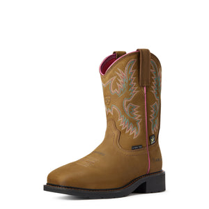 "'Ariat' Women's 9"" Krista EH MetGuard Steel Toe - Brown"