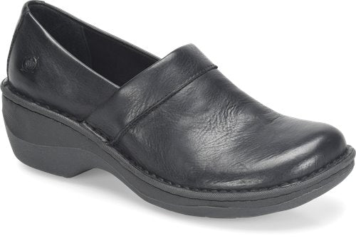 'Born' Women's Toby Duo Slip On - Black