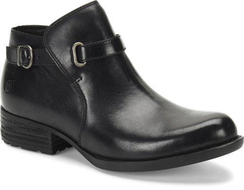 'Born' Women's Kristina Ankle Boot - Black