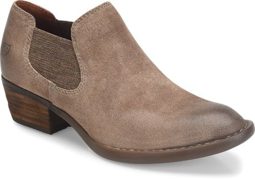 'Born' F52117 - Women's Dallia Slip On Shoes - Taupe