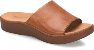 'Born' Women's Ottowa Slide Sandal - Brown