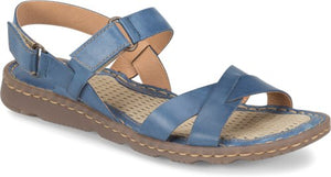 'Born' F62204 - Jemez Walking Sandal – Blue