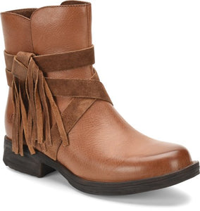 'Born' Women's Perl Ankle Bootie - Brown
