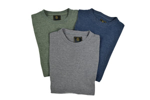 'F/X Fusion' Men's Thermal Crew Neck - Grey