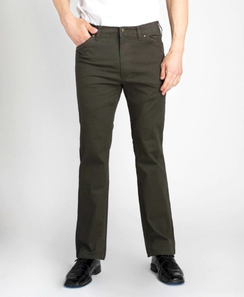 'Grand River' 283 O - Twill Stretch Pant - Olive