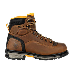 "'Georgia Boots' Men's 6"" Carbo Tec LTX EH WP Comp Toe - Brown"