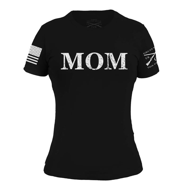 'Grunt Style' Women's Mom Defined Tee - Black
