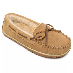 'Minnetonka' Women's Tilia Pile Lined Moc Slipper - Cinnamon