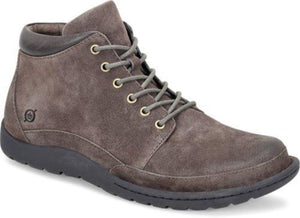 'Born' Men's Nigel Boot - Grey Combo Suede