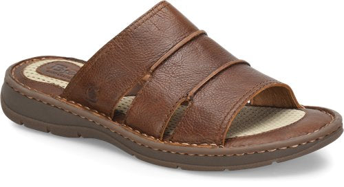 'Born' H60416 - Weiser Slide Sandals - Tan