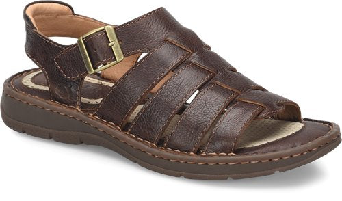 'Born' H60523 - Wichita Sandals - Dark Brown