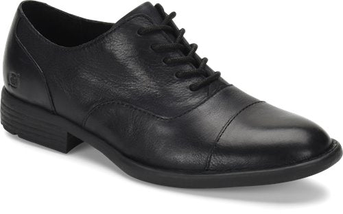 'Born' H64103 - Men's Marc Oxford Shoe - Black