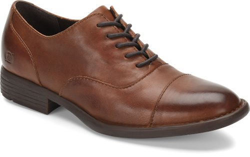 'Born' H64106 - Men's Marc Oxford Shoe - Brown
