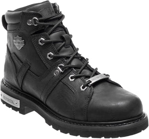 "'Harley Davidson' D93471 - Men's 5"" Ruskin Lace Up Boot - Black"