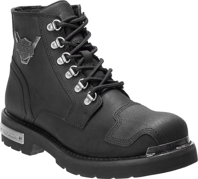 'Harley Davidson' D93519 - Men's Daleview Boot - Black