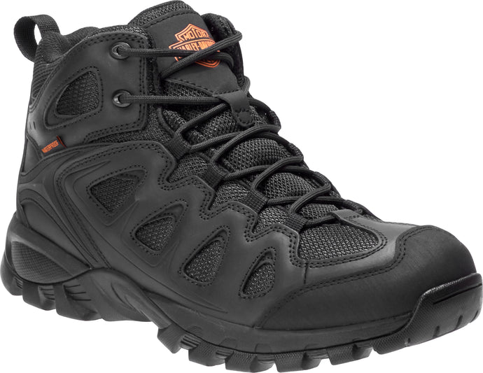 'Harley Davidson' Men's Woodridge Composite Shoe - Black